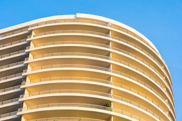 L'esterno della superficie delle strutture astratte della costruzione Foto Gratuite