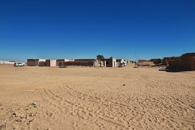 La città di karma in sudan, africa Foto Premium