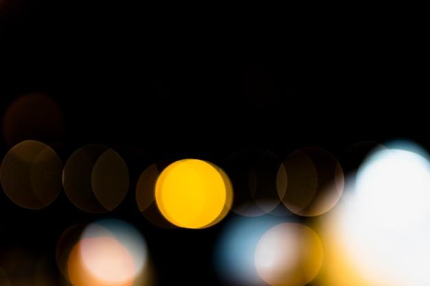 La luce di colore vaga bokeh astratto può usare il fondo Foto Gratuite