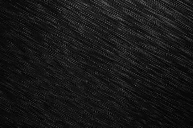 La superficie del metallo nero è uno sfondo della tabella. Foto Premium