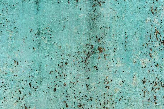 La superficie di sporchi muri di cemento verde Foto Premium