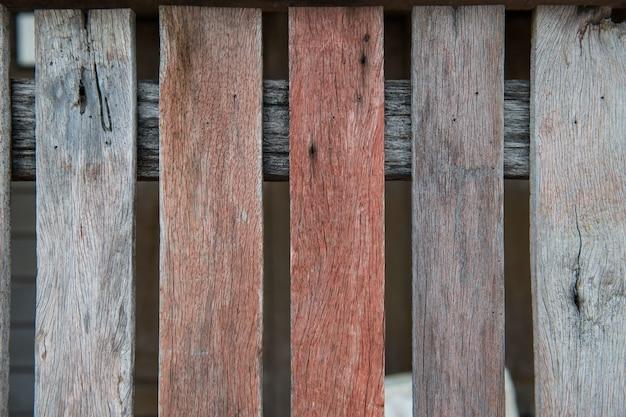 La vecchia retro annata ha invecchiato il fondo di legno di struttura Foto Premium