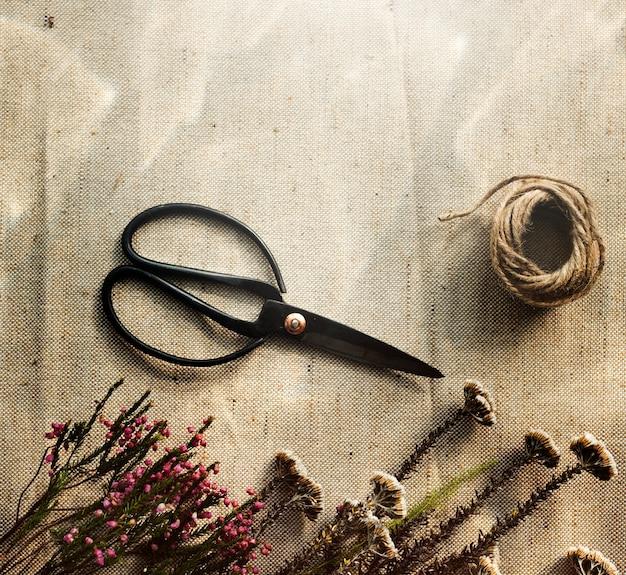Laboratorio artigianale di fiori Foto Gratuite