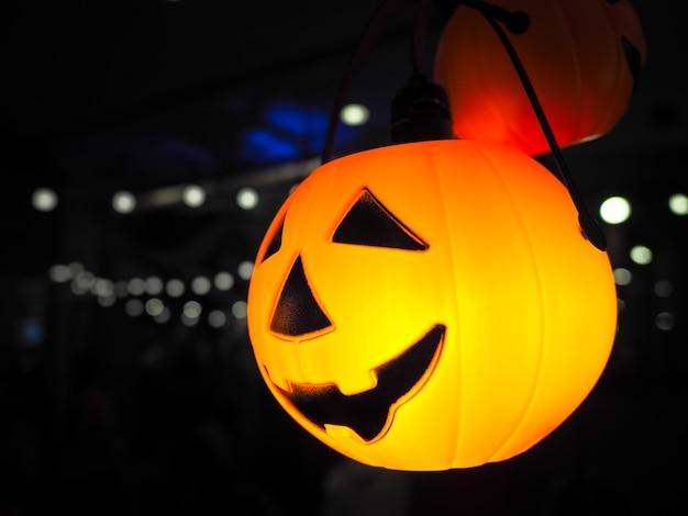 Lanterna Illuminazione : Lanterna della presa della testa della zucca di halloween con