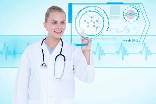 Lavoro specializzato con applicazioni mediche Foto Gratuite