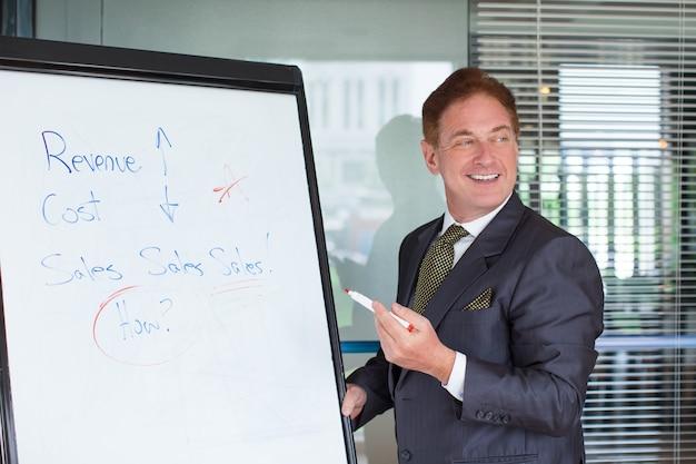 Leader di Business Felice Dare Presentazione Foto Gratuite