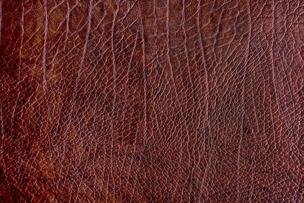 Leahter con texture di sfondo Foto Gratuite