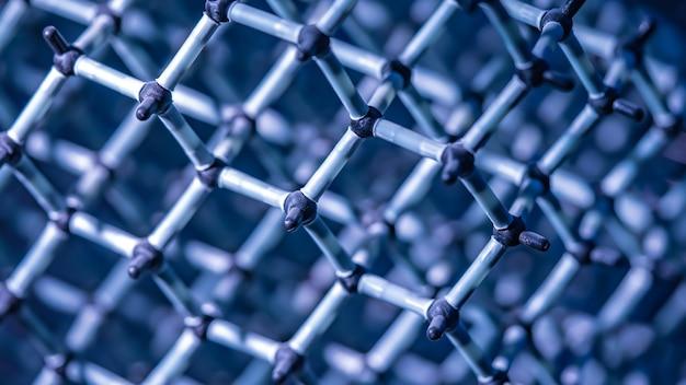 Legame chimico dell'acqua molecola Foto Premium
