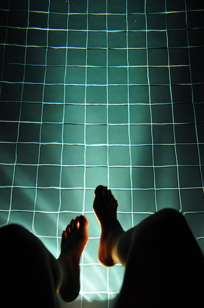Legging hanging pool light glowing Foto Gratuite