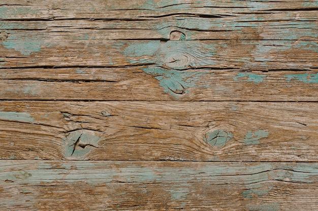 Legno vintage con superficie di vernice turchese Foto Gratuite