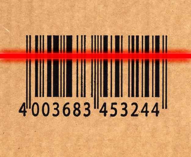 Lettore di codici a barre e laser Foto Premium