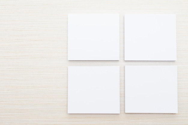 Libro bianco mock up Foto Gratuite