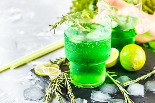 Limonata verde Foto Premium