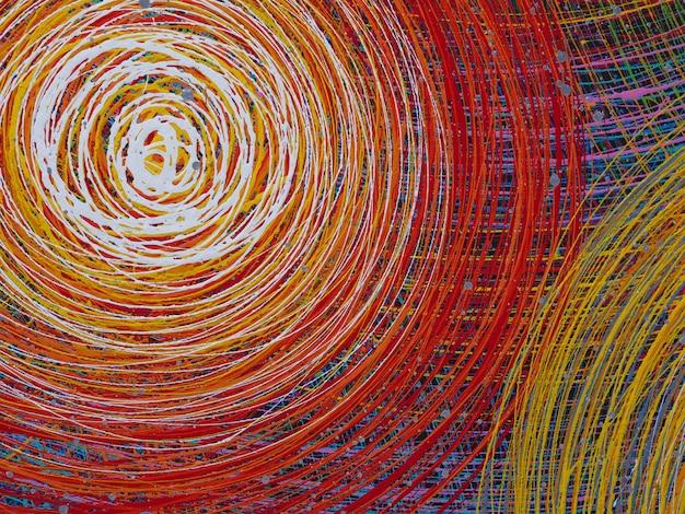 Linee astratte sfondo colorato con texture. sfondo di partito Foto Premium