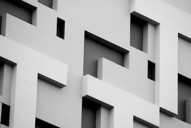 Linee di architettura di sfondo astratto. dettaglio di architettura moderna Foto Premium