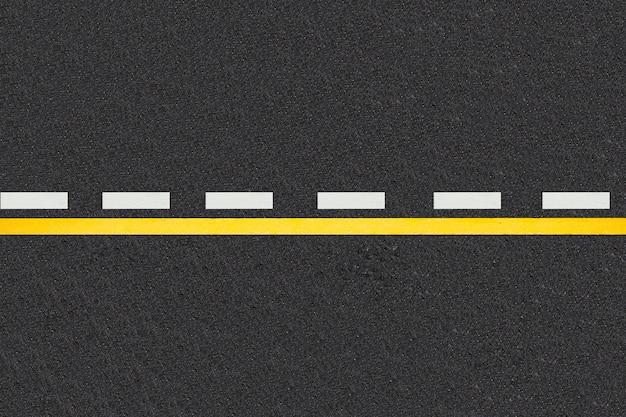 Linee di traffico su sfondo strade asfaltate Foto Gratuite