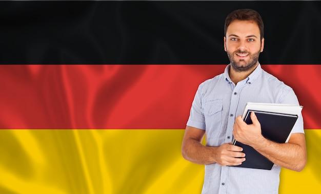 Lingua tedesca Foto Premium