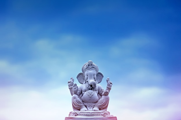 Lord ganesha ganesh festival Foto Premium