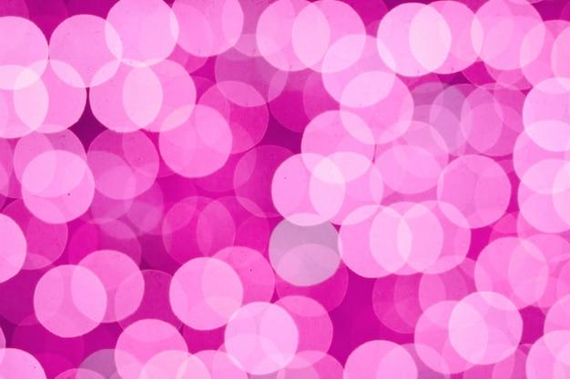 Luci rosa astratte del bokeh della sfuocatura Foto Premium