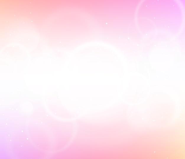 Luci Sfocate Su Sfondo Astratto Sfumato Rosa Scaricare Foto Premium