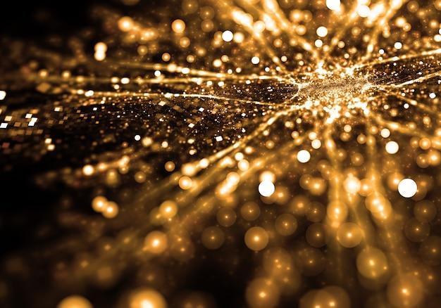 Lucido particelle d'oro carta da parati Foto Gratuite