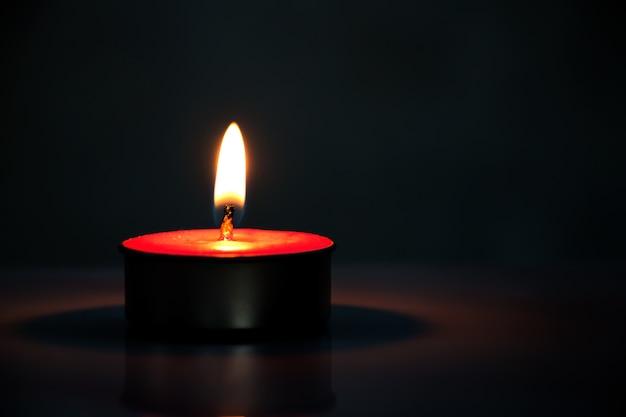 Lume di candela Foto Premium