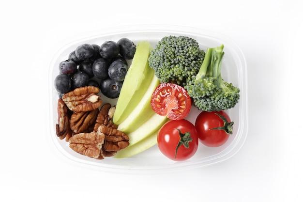 Lunch box con cibo sano Foto Gratuite