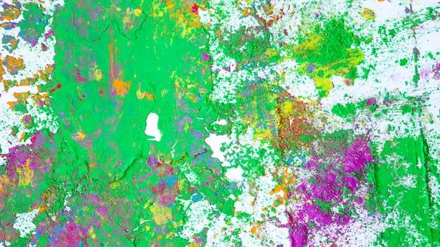 Macchie di viola e verde colori secchi Foto Gratuite