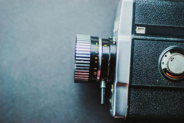 Macchina da presa d'epoca Foto Premium
