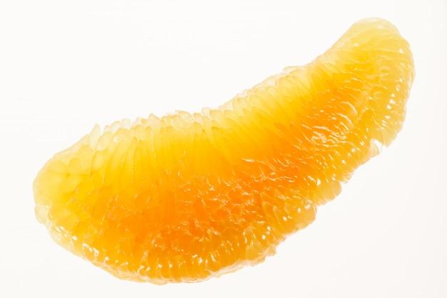 Macro di frutta pomelo Foto Premium
