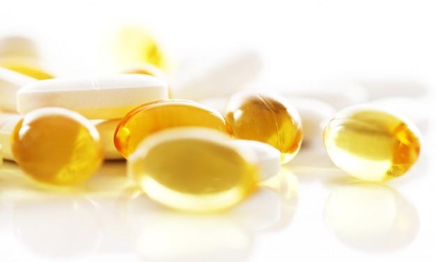 Macro di pillole Foto Gratuite
