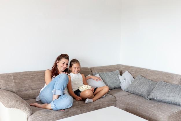 Madre e figlia divertirsi Foto Gratuite