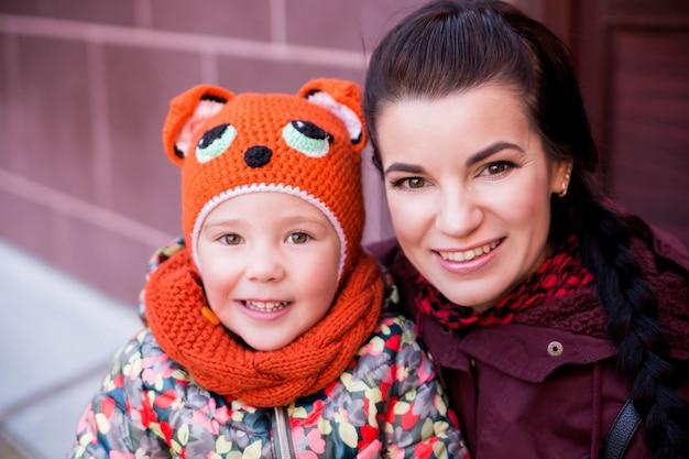 Mamma e figlia si divertono insieme Foto Premium