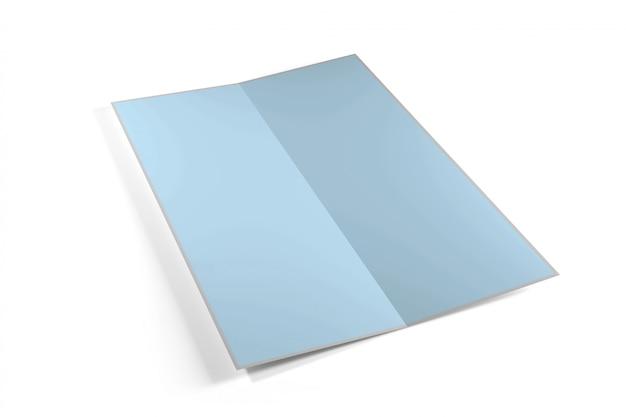 Manichino di una brochure Foto Premium