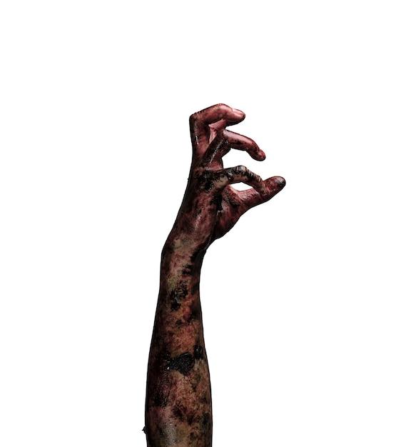 Mano di zombie. concetto di tema di halloween. Foto Gratuite