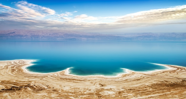 Mar morto in israele Foto Premium