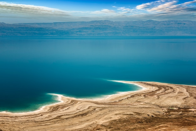 Mar morto in israele Foto Premium