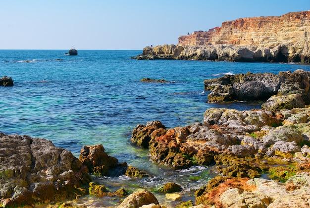 Mare e rocce Foto Premium