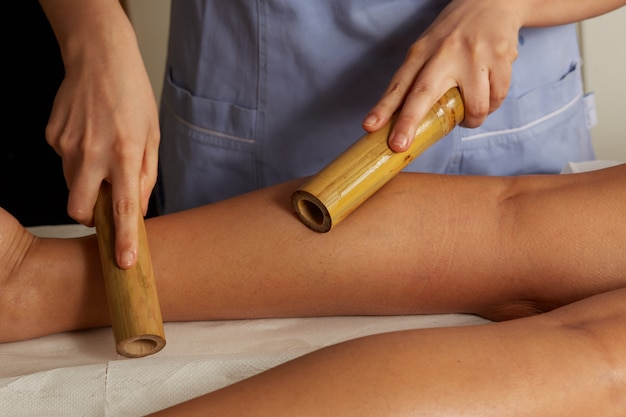 Massaggio rilassante tailandese Foto Premium