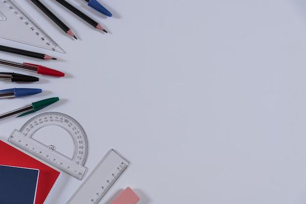 Materiale scolastico Foto Premium
