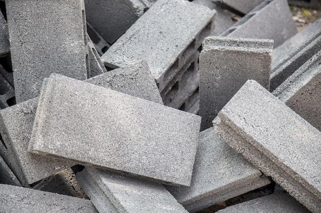 Muratura Blocchi Di Cemento.Materiali Da Costruzione Blocchi Di Cemento Nel Luogo Di