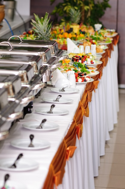 Matrimonio per catering Foto Premium