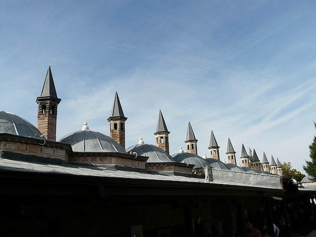 Mausoleo di mevlana moschea tetti konya torretta Foto Gratuite
