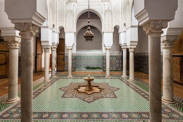 Mausoleo moulay ismail Foto Premium