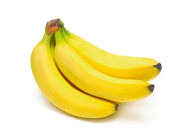 Mazzo di banane mature Foto Premium