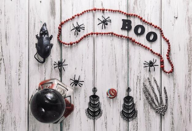 Mazzo Di Cose Di Halloween Foto Gratuite