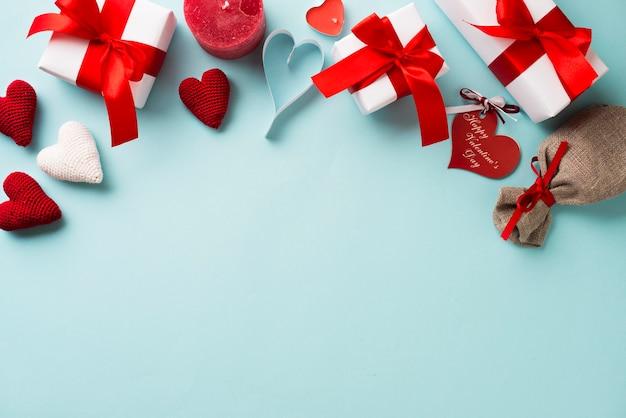 Mazzo di forniture per san valentino Foto Gratuite