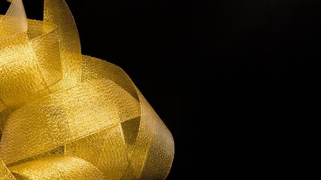 Mazzo di nastro dorato Foto Gratuite