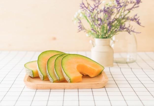 Melone fresco di cantalupo Foto Gratuite