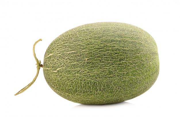 Melone isolato su bianco Foto Premium